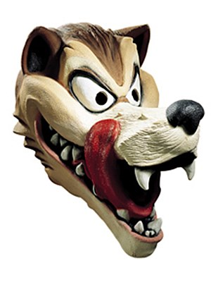 Big Bad Wolf Cartoon Mask