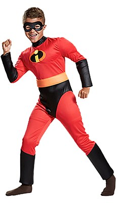 Dash Incredible Deluxe Muscle Child Costume