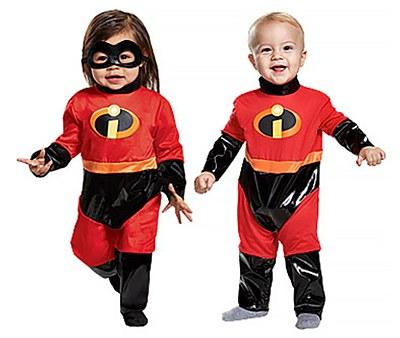 Incredibles Newborn Costume