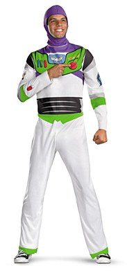 Toy Story Buzz Lightyear Classic Adult Plus Costume