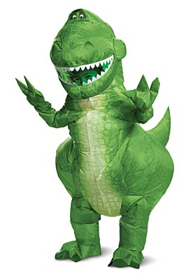 Toy Story Rex Inflatable Child Costume