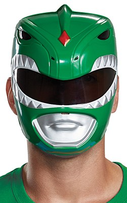 Power Rangers Green Ranger Mask