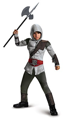 Assassin's Creed Deluxe Muscle Child Costume