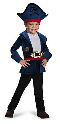 Jake And The Neverland Pirates Toddler Costume