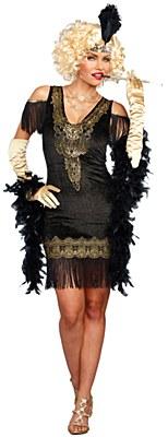 Swanky Flapper Adult Costume