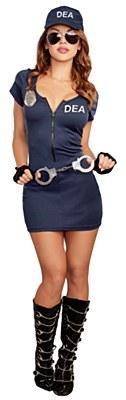 DEA Agent Dress Adult Costume