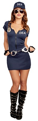 DEA Agent Dress Adult Costume