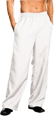 Basic Men's White Pants