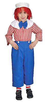 Rag Doll Boy Child Costume