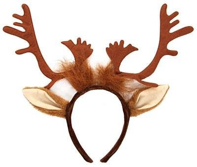 Reindeer Antler Heaband