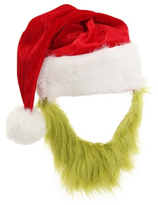 Dr. Seuss Grinch Hat And Beard Set