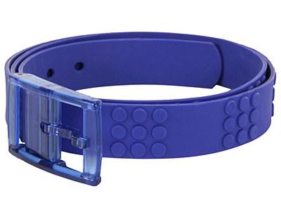 Adjustable Candy Rubber Blue Belt