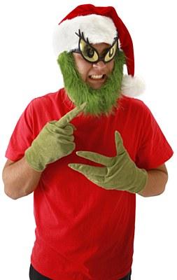 Dr. Seuss Grinch Gloves