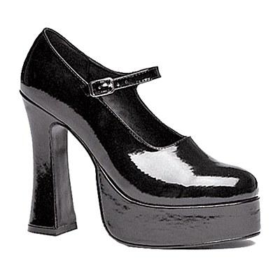 "Black Mary Jane 5.5"" Heel Women's Shoes"