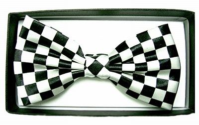 Checkerboard Deluxe Bow Tie
