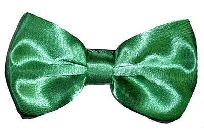 Deluxe Green Bow Tie