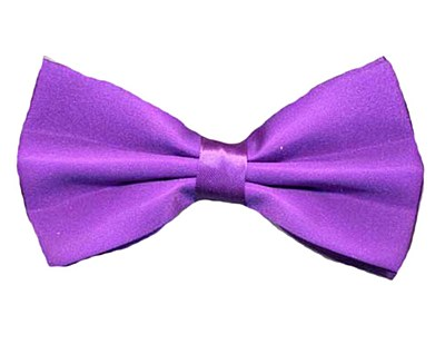 Purple Bow Tie Deluxe Quality