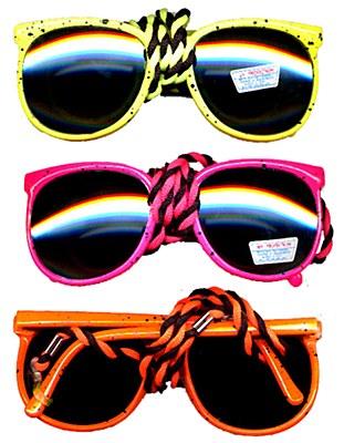 80's Beach Neon Sunglasses