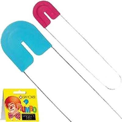 Jumbo Pink Diaper Safety Pin