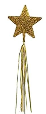 Glitter Star Gold Wand