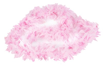 "72"" Light Pink Feather Boa"