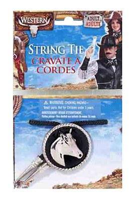 Cowboy Bollo String Tie