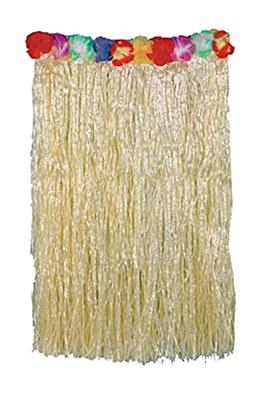 Flower Top Nylon Grass Skirt