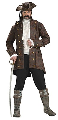 Buccaneer Pirate Adult Jacket