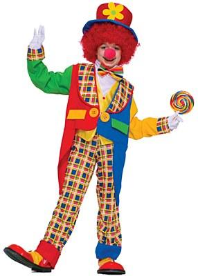 Clown Around Town Child Costume