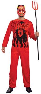 Retro Devil Classic Adult Costume