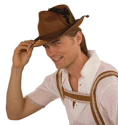 Oktoberfest Deluxe Brown Hat