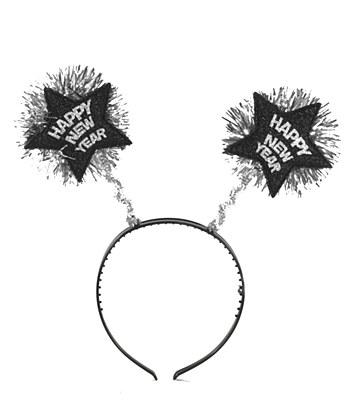 Happy New Year Headband Bopper