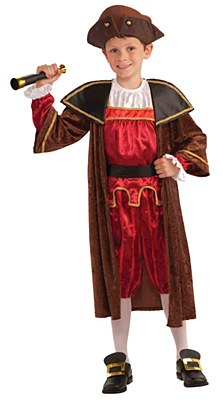 Christopher Columbus Child Costume