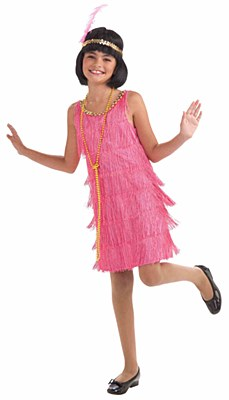 Little Miss Flapper Child Costume