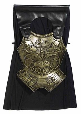 Roman Armor Chestpiece And Cape Set