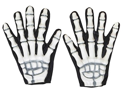 3-D Skeleton Gloves