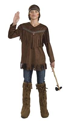 Brave Native American Teen Costume
