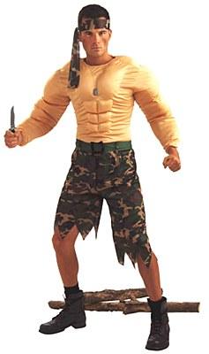 Jungle Commando Adult Costume