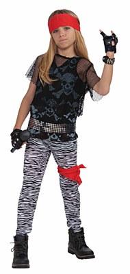 80's Rock Star Boy Child Costume