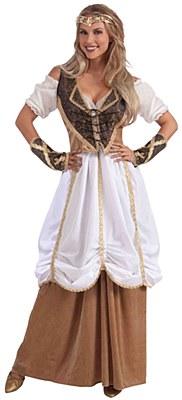 Renaissance Lady Double Skirt