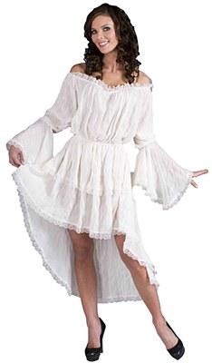 Chemise Lace Short Front Adult Under Gown