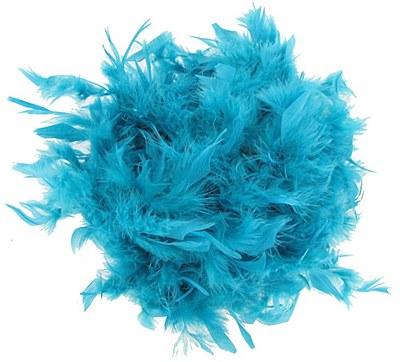 """72"""" Turquoise Feather Boa"""