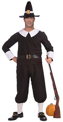 Pilgrim Man Adult Plus Costume