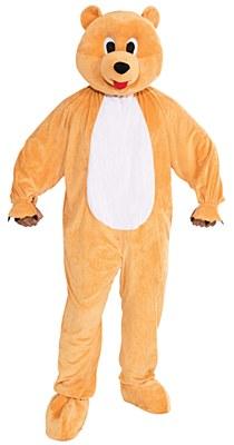 Honey Bear Plush Mascot Adult Costume