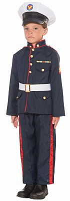 Formal Marine Child Costume