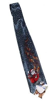 Santas Sled Tie
