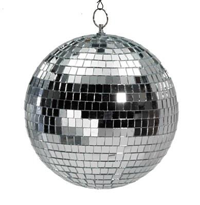 "Disco Hanging 8"" Mirror Ball"
