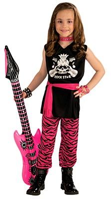 Rock Star Girl Child Costume