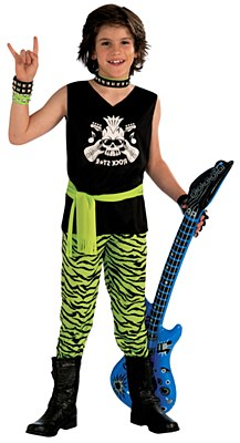 Rock Star Boy Child Costume