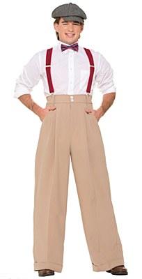 High Waist Deluxe Men's Pants